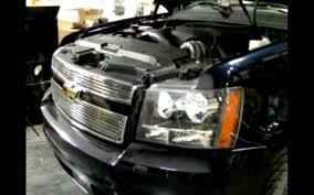 07-09 Chevy Avalanche Halo LED Projector Headlights Installation ...