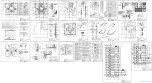 Строительство курсовые работы и дипломные работы Чертежи РУ Итоговый курсовой проект 17 ти этажный жилой дом в г