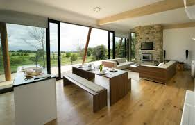 White Cabinets Living Room Kitchen Room Design Inviting Modern Kitchen In Living Room Brick