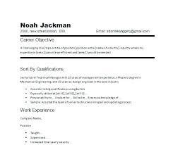 wording for resume objectives sample of objective in resume in general job resume objective