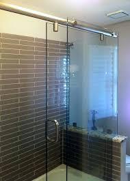 sliding glass shower tub door treatment treatments doors project gallery