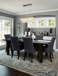 dining room furniture choices available deep silver by benjamin moore trim and cabinets simply white by benjamin moore 2018 color of the year