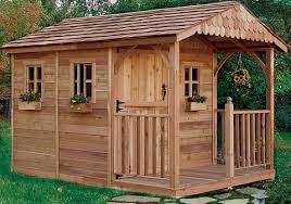 cedar garden shed.  Garden OLT 812 Cedar Garden Shed With Porch And Functioning Windows Throughout