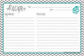 Recipe Template Word Recipe Card Template Word Magdalene Project Org