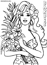 Small Picture Barbie Beach Coloring Pages Coloring Coloring Pages