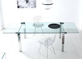 expandable glass dining table extendable glass dining table uk