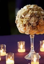 Paper Flower Centerpieces At Wedding Paper Flowers Wedding Centerpiece By Nichole Sypher