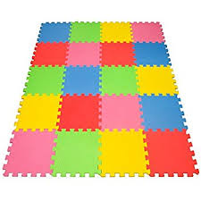 floor mats for kids. Angels 20 XLarge Foam Mats Toy Ideal Gift, Colorful Tiles Multi Use, Create \u0026 Floor For Kids M