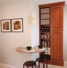 Kitchen Built In Bench Terrific Garnet Rug Dining Room Traditional With Built In Cabinet
