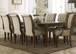 the cotswold 7 piece dining set brings an elegant collection to your home the traditional styling is crafted from poplar solids and birch veneers in a