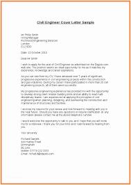 Cover Letter For Civil Engineer Internship Cover Letter Civil