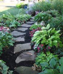 garden paths and stepping stones. love this garden! stone pathwaysstepping garden paths and stepping stones