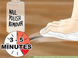 image titled get permanent marker stain out of hardwood flooring step 12
