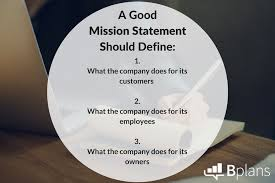 Mission Statement Example Mission Statement Examples Bplans