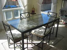 Kitchen Table Glass Top Kitchen Glass Table Fascinating Kitchen Glass Table Jpg