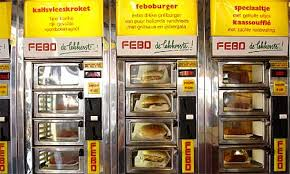 Automat Vending Machine For Sale Delectable FEBO The Last Surviving WalkIn Snack Vending Machine Vending