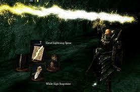 Great Lighting Spear Great Lightning Spear Dark Souls Items Items 1 Lightning