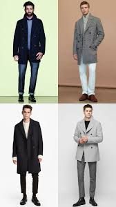 how to wear a pea coat in winter