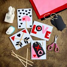 diy felt valentine s day cards