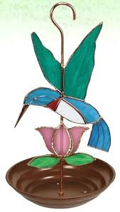 hummingbird stained glass quick view stained glass hummingbird feeder pattern