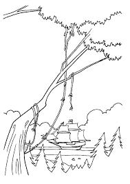 Kids N Fun Kleurplaat Pocahontas Het Schip Van John Smith