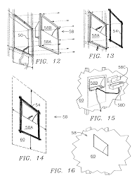 patent us7108394 built in low glare light fixtures recessed in patent drawing