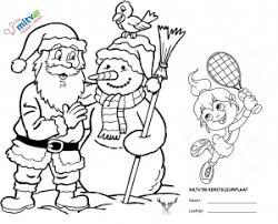 Kerstmarkt Kleurplaat Wedstrijd Tennisvereniging Mltv90