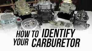 How To Identify Your Holley & Demon Carburetor - YouTube