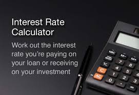 Interest Rate Calculator For Loans And Investments