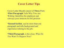 What Should A Cover Letter Contain For A Resume What Should A Cover