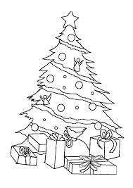 Coloriage Sapin De No L Cadeaux Imprimer