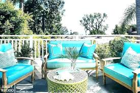 blue outdoor cushions patio furniture navy and white covers dark teal red pillows cushion