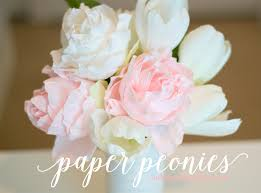 Diy Paper Flower Tutorials Paper Peony Tutorial Ash And Crafts