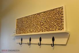 Tree Limb Coat Rack DIY Coat Rack Plans With Feature Area Rogue Engineer 40