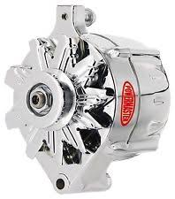ford 100 amp alternator powermaster 8 37101 alternator ford upgrade 100 amp w 1 v belt pulley