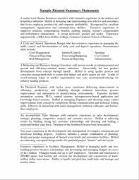 How Write A Resume Summary Statement Remarkable Writing For Your