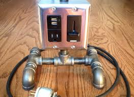 steampunk pipe lamp wiring industrial pipe table lamp wiring a pipe lamp wiring diagram