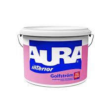 <b>Краска в/д</b> для ванной и кухни особопрочная <b>AURA GOLFSTROM</b> ...