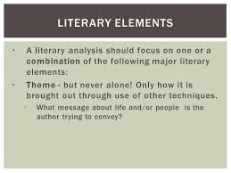 composition literary analysis essay iuml iexcl a literary analysis a literary analysis should focus on one or a combination of the following major literary elements