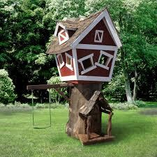 kids tree houses. Daniels Wood Land Scallywag Sloop Outdoor Tree Playhouse | Hayneedle Kids Houses