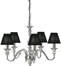 chandelier with black shade nickel 5 light classic chandelier with black shades brass chandelier black shades