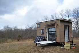 custom tiny house. Modren Tiny 210 Square Foot Custom Tiny House By Modern Living For C