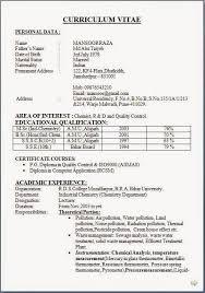 Resume Format For Freshers Pharma Job Resume Template Easy Http