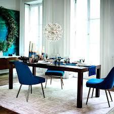 singular mid century velvet dining chair west elm royal blue kitchen chair mid century chair cushion