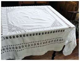 white cotton tablecloth pretty white cotton drawn work tablecloth red tag item 120 inch round