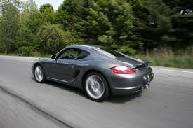 Nearly New Germans Comparo: First Place: Porsche Cayman S