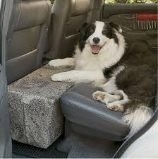 safety seat back seat extender for dogs