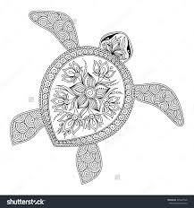 Small Picture Turtle Coloring Pages Throughout Turtle Coloring Pages For Adults