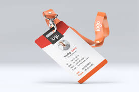 Makiplace Template Card Identity – Orange
