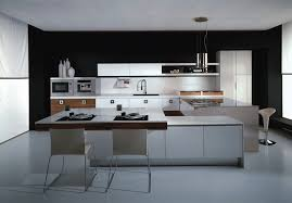 modern kitchen design 2017. Italian Style Kitchen Cabinets For A Modern : Black White Design 2017